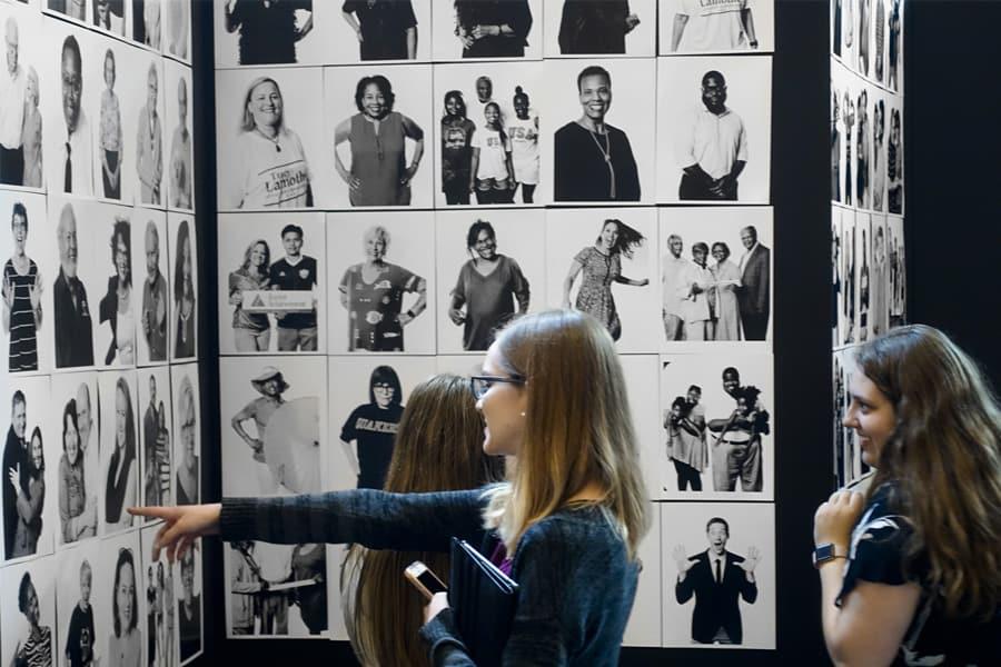 ObO Community Portrait 2 women wall bonding