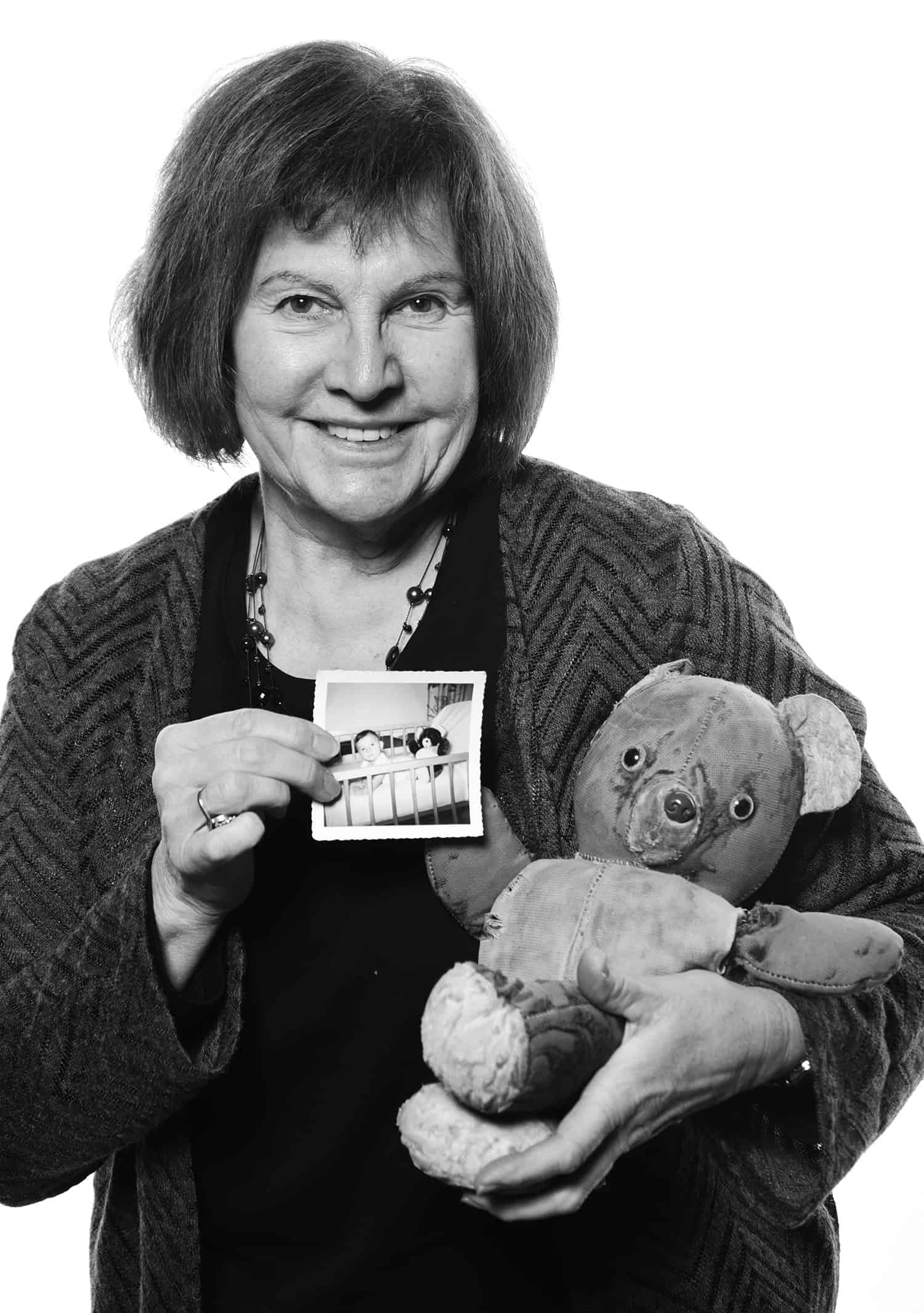 ONE by ONE Community Portrait Putnam Susan McPeters teddy bear 5