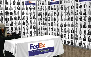 FedEx sponsors ONE by ONE Community Portrait