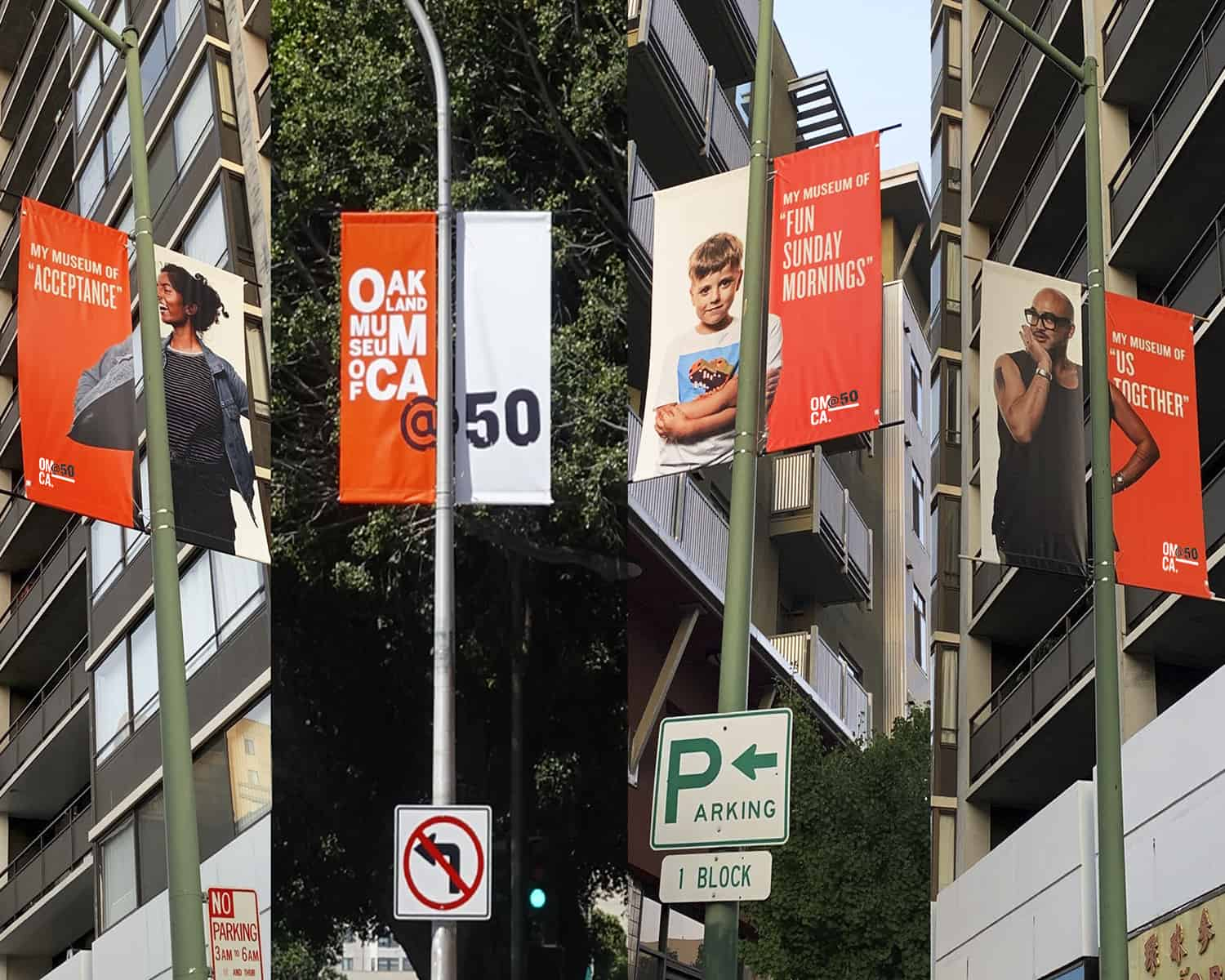 OMCA50 4 banners ONE by ONE Community Portrait